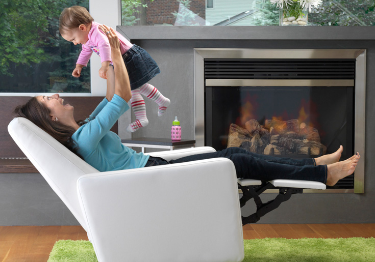 Nursery glider recliner chair supports you well even when you play or feed your baby & Recliners Made Nursing Easy! - Cuddly Home Advisors islam-shia.org