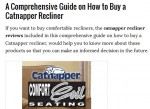 catnapper recliners reviews