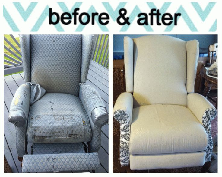Exceptionnel How To Reupholster A Recliner