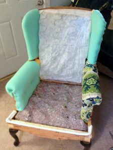 How Much Does It Cost To Reupholster A Wingback Chair Cuddly Home Advisors