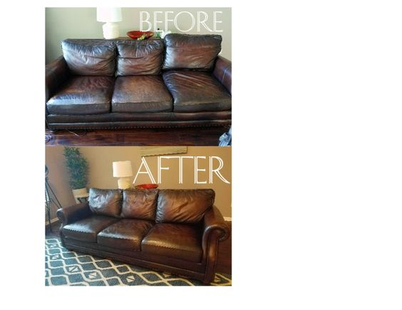 How To Restore Leather Couch Know It Here Cuddly Home