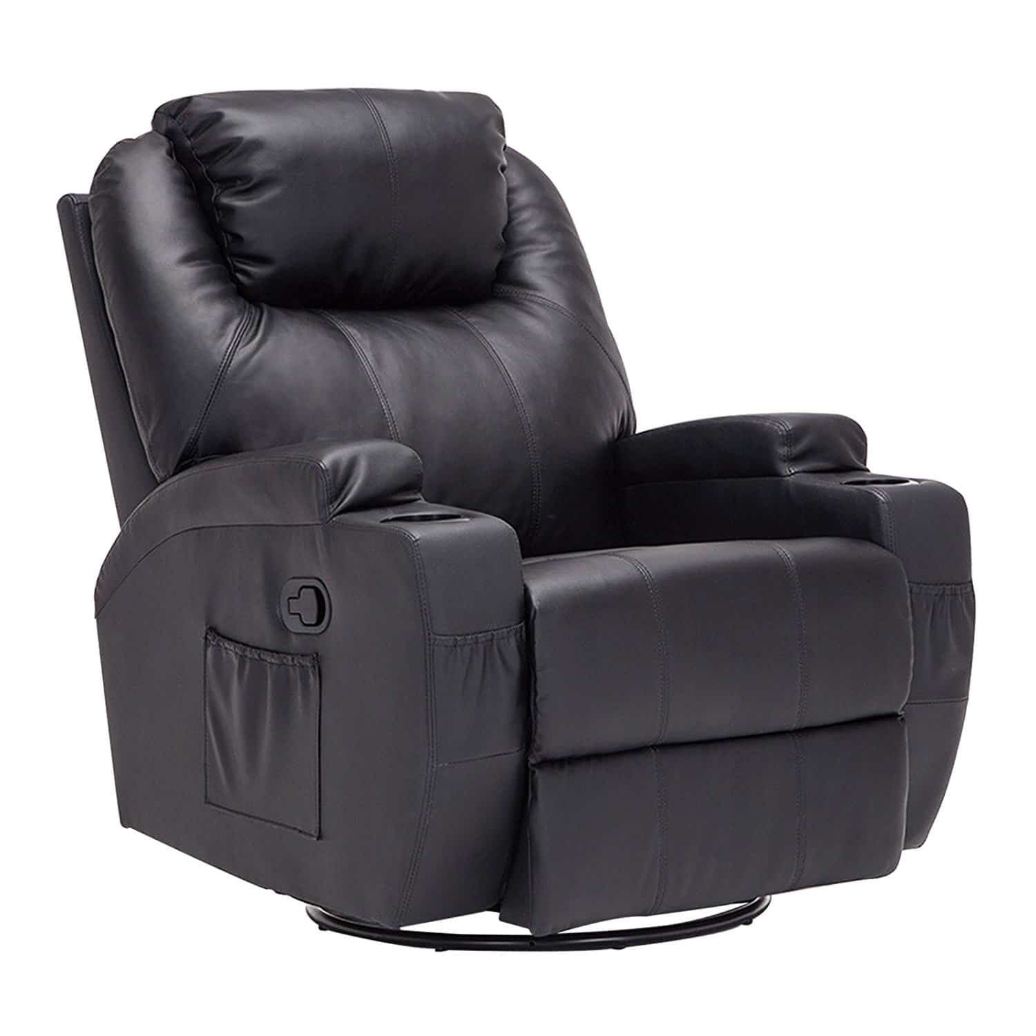 buy leather chairs online best oversized recliners best big recliner best 11873 | Mecor Heated Oversized Recliner Chair Bonded Leather