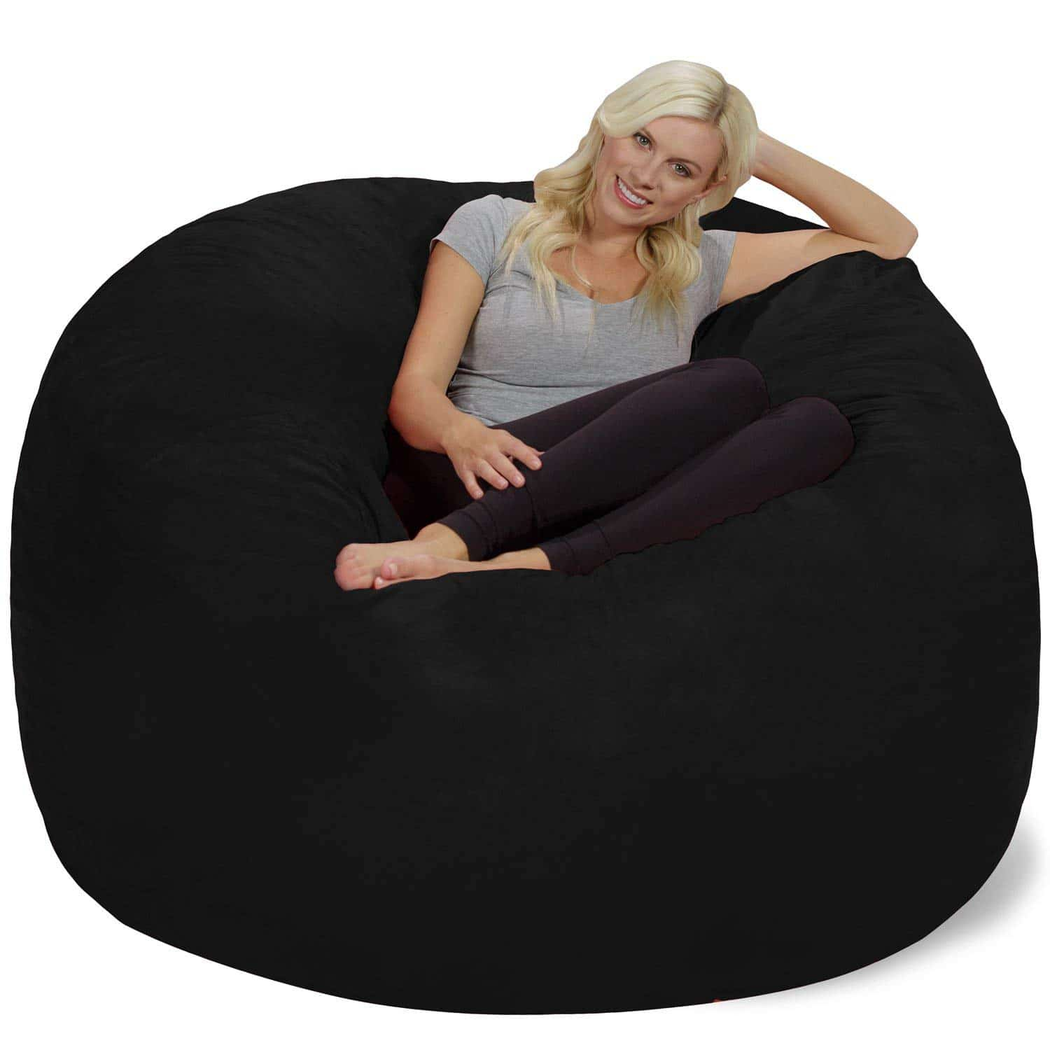 best bean bag chairs top 10 bean bag brands and reviews cuddly home advisors. Black Bedroom Furniture Sets. Home Design Ideas