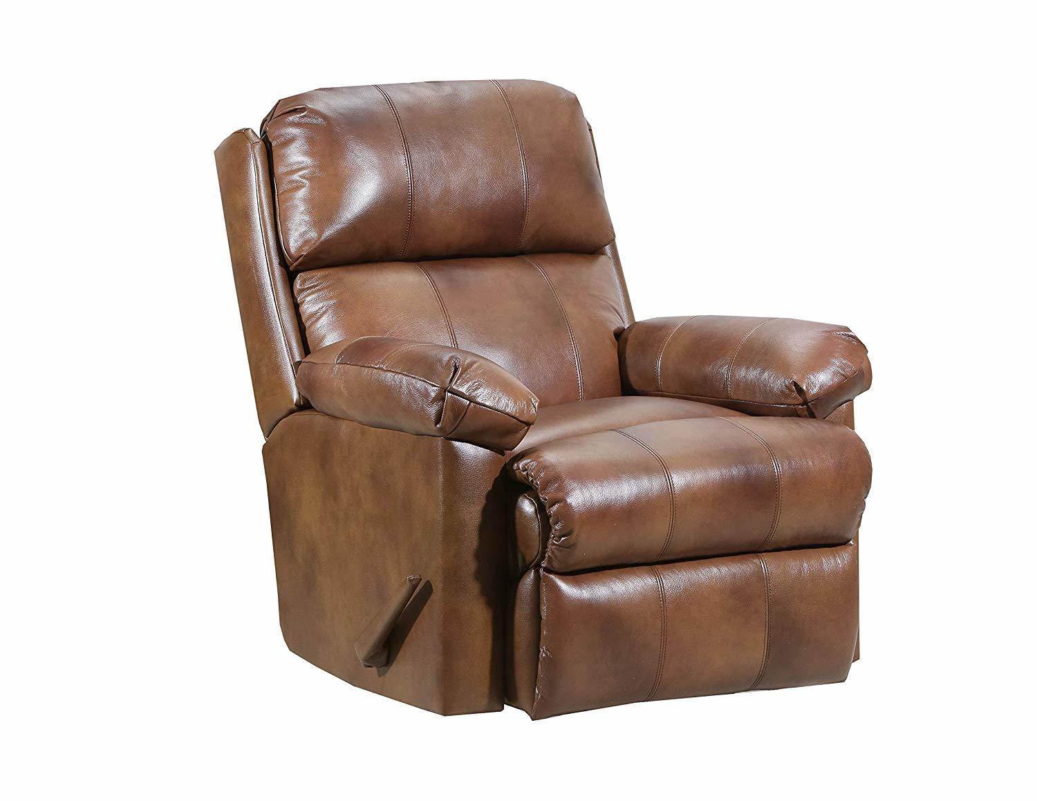 Best Lane Recliners Home Furnishings 4205 18 Soft Touch Chaps Swivel Rocker Recliner